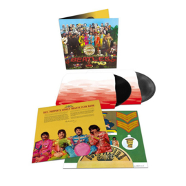 The Beatles Sgt. Pepper's Lonely Hearts Club Band  2LP - Anniversary Edition- Win Actie