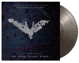 Dark Knight Rises 2LP - Silver Vinyl-