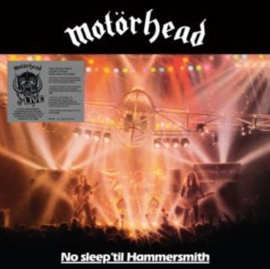 Motorhead No Sleep Till Hammersmith 3LP