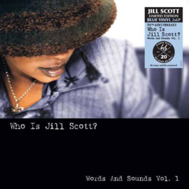 Jill Scott Who Is Jill Scott? Words And Sounds Vol. 1 2LP -Blue Vinyl-