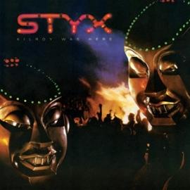 Styx Kilroy Was Here 180g LP