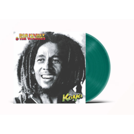 Bob Marley & The Wailers Kaya LP - Green Vinyl-