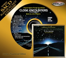 John Williams Close Encounters of the Third Kind Soundtrack Numbered Limited Edition Hybrid Stereo SACD