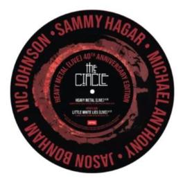 Sammy Hagar & The Circle Heavy Metal / Little White Lies LP