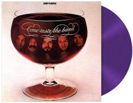 Deep Purple Come And Taste The Band LP - Purple Vinyl-
