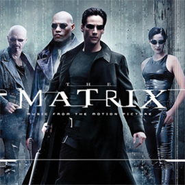 "The Matrix Soundtrack 2LP -Black & Red ""Squiddy"" Vinyl-"