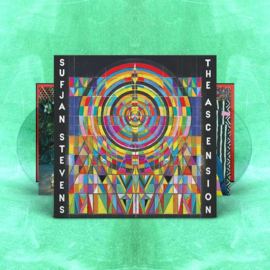 Sufjan Stevens The Ascension 2LP - Clear Vinyl-