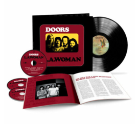The Doors L.A. Woman (50th Anniversary Deluxe Edition) 180g LP & 3CD