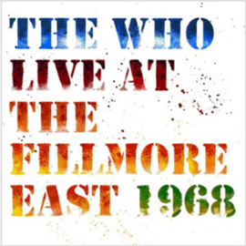 The Who Live at The Fillmore East 1968 3LP