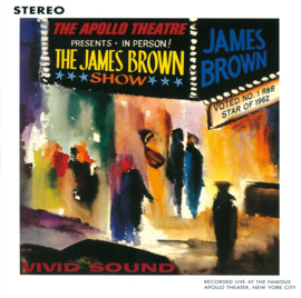 James Brown Live At The Apollo LP