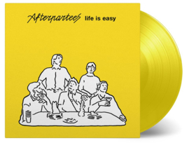 Afterpartees Life Is Easy LP + CD - Yellow Vinyl-