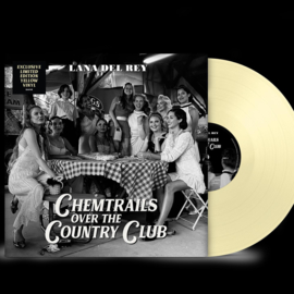 Lana Del Rey Chemtrails over the Country Club LP - Yellow Vinyl-