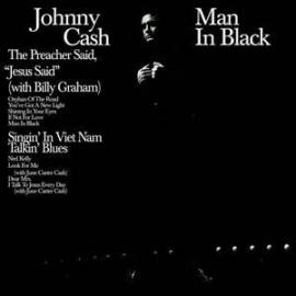 Johnny Cash Man In Black 180g LP (Translucent Blue Vinyl)