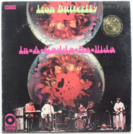 Iron Butterfly  I-A-Gadda-Da-Vida LP -Coloured Vinyl