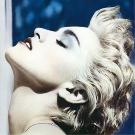 Madonna True Blue LP -Clear Vinyl-