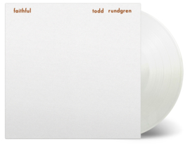 Todd Rundgren Faithful LP - White Vinyl-