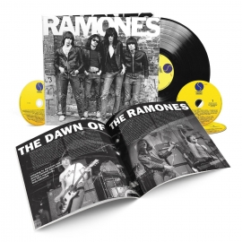 Ramones Ramones 40the Anniversary Edition LP + 3CD