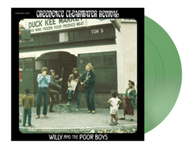 Creedence Clearwater Revival Willy and The Poor Boys 180g LP - Green Vinyl-