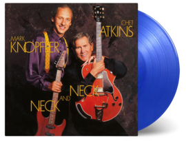 Mark Knopfler & Chet Atkins Neck and Neck LP -Blue Vinyl-
