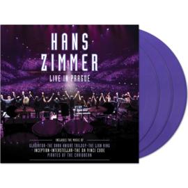 Hans Zimmer Live In Prague 4LP• - Purple Vinyl-