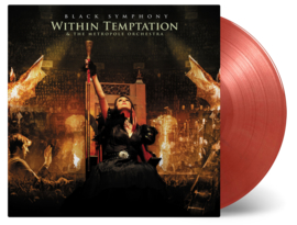 Within Temptation Black Symphony 3LP -Gold Red Vinyl-