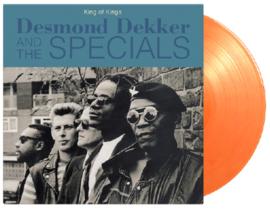 Desmond Dekker & The Specials King Of Kings LP - Orange Vinyl-