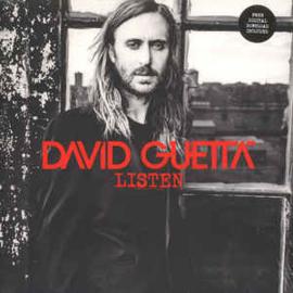 David Guetta Listen 2LP - Silver Opaque Vinyl -