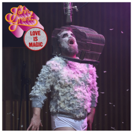 John Grant Love Is Magic 2LP - Clear Vinyl-