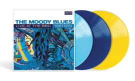 The Moody Blues Live At The BBC: 1967-1970 Numbered Limited Edition 180g 3LP (Light Blue, Dark Blue & Yellow Vinyl