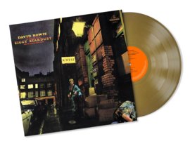 David Bowie The Rise and Fall of Ziggy Stardust & The Spiders From Mars LP (Gold Vinyl)