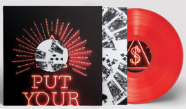 Arcade Fire Put Your Money On Me LP  -Red Vinyl-
