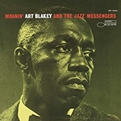 Art Blakey Moanin LP - Blue Note 75 Years-