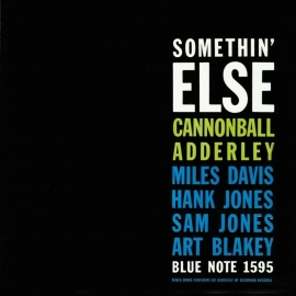Cannonball Adderley - Somthin Else LP - Blue Note-