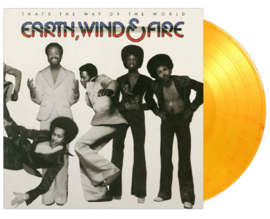 Earth Wind & Fire That's  The Way Of The World LP - Yellow Vinyl-