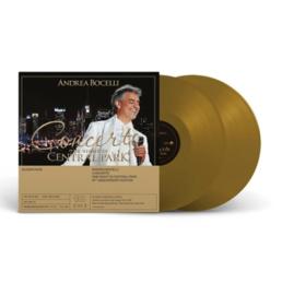 Andrea Bocelli Concerto: One Night In Central Park - 10th Anniversary 180g 2LP (Gold Vinyl)