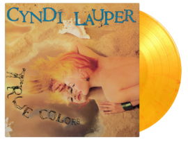 Cindy Lauper True Color LP - Yellow Vinyl-
