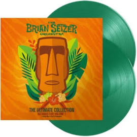 The Brian Setzer Orchestra The Ultimate Collection Recorded Live: Volume 2 2LP -Transparent Orange Vinyl-