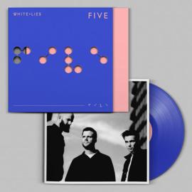 White Lies Five LP - Blue Vinyl-