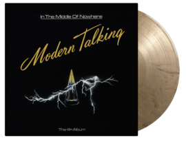 Modern Talking  In The Middle Of Nowhere LP - Gold Vinyl-