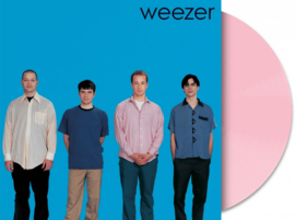 Weezer The Blue Album LP - Pink Vinyl-