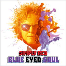 Simply Red Blue Eyed Soul LP - Purple Vinyl-