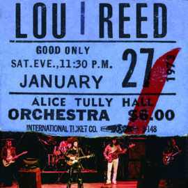 Lou Reed Live At Alice Tully Hall LP