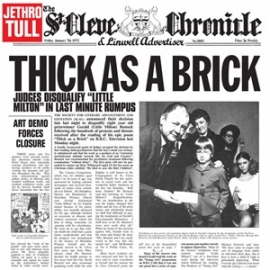 Jethro Tull Thick As A Brick (The 2012 Steven Wilson Remix) 180g LP