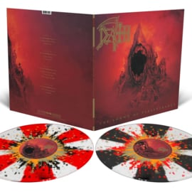 Death Sound Of Perseverance 2LP - Clear Splatter Vinyl-