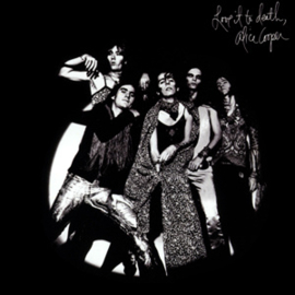 Alice Cooper Love It To Death LP  -Black/White Vinyl-