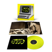 Kraftwerk Computerwelt LP - Yellow Vinyl-
