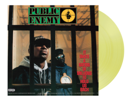 Public Enemy It Takes a Nation of Millions To Hold Us Back LP - Yellow Vinyl-