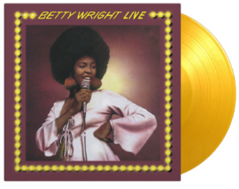 Betty Wright Betty Wright Live LP - Yellow Vinyl-