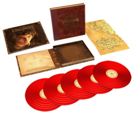 The Lord of The Rings: The Fellowship of The Ring - The Complete Recordings 180g 5LP (Red Vinyl)