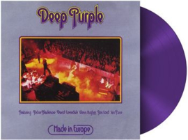 Deep Purple Made In Europe LP - Purple Vinyl-